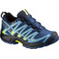 Salomon Kids XA Pro 3D CSWP Shoes Midnight Blue/Blue Gum/Corona Yello